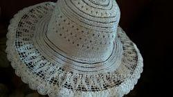 шляпа летняя бежевая новая на пляж