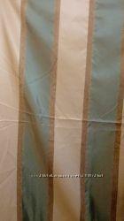 Новые роскошные шторы Тафта зеленая полоска