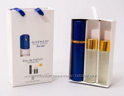 Givenchy Blue Label pour Homme в подарочной упаковке 3 x 15 ml