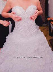 Срочно Свадебное платье  подарок