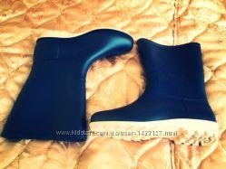 Резиновые сапоги тёмно синий цвет 36-41. Будте в тренде даже в дождь