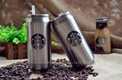 Термос Starbucks Старбакс тамблер переносной термос-стакан
