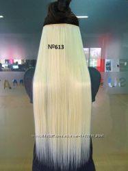 Волосы ТЕРМО на заколках тресс прядь 65см 613