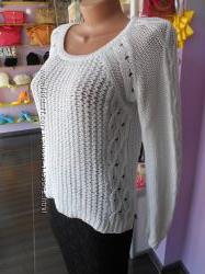 Модный брендовый свитер