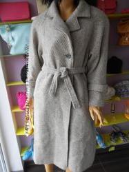 Натуральное драповое пальто