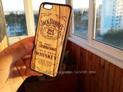 Чехол Зеркальный Jack Daniels Виски iPhone 5 5S 5SE 6 6S