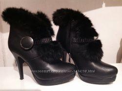 Зимние ботинки 37р