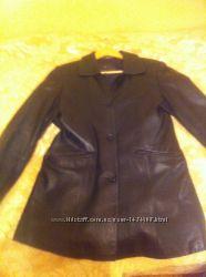 Піджак-куртка шкіряна