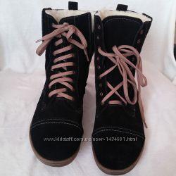 Нові шкіряні зимові жіночі черевики