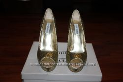 Женские туфли STEVE MADDEN Gold Glitter P Alice