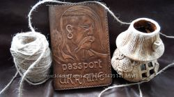 Обложка для паспорта ручной работы