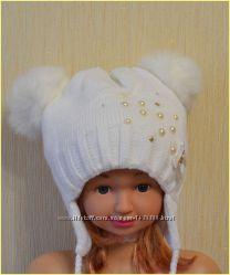 шапочка для дівчинки