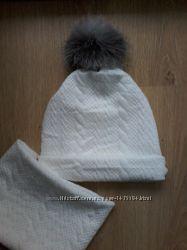 шапка подвійна 0-9р