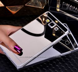 Зеркальный чехол бампер для Samsung Galaxy J5 2015