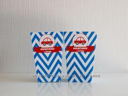 Коробочки для попкорна, для сладостей с надписью