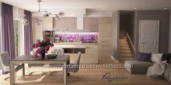 Дизайн интерьеров домов, коттеджей. Киев и вся Украина.