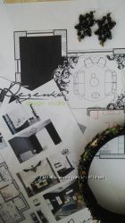 Дизайн-проект интерьера. Визуализация, чертежи.