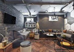 Дизайн интерьера кафе, пабов, ресторанов. Киев и вся Украина
