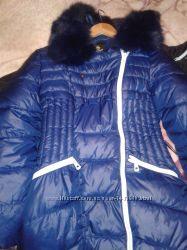Пальто зимнее на холофайбере.