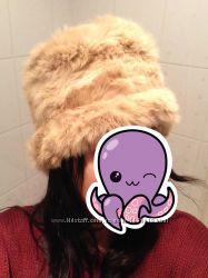 Супер теплая шапка из натурального кролика