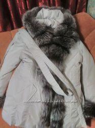 куртка зима-осень 2в1