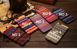 Чехол с ткани для iPhone 6 6S Разные узоры и цвета