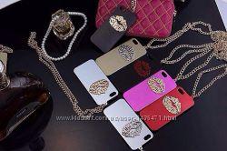 Чехол Губы Поцелуй для IPhone 5 5S SE Разные цвета