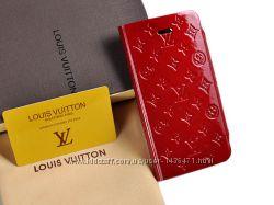 Чехол Louis Vuitton книжка для IPhone 5 5S SE Разные цвета