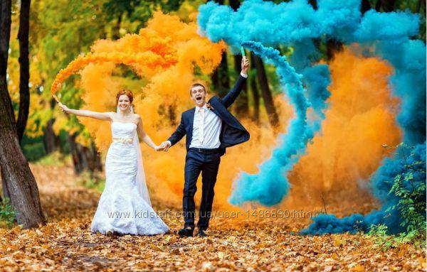 Цветной дым, дымовая шашка для фотосесии