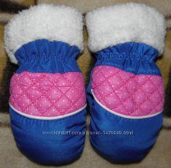 рукавички, варежки на 1-3 года