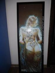 Картина обнажённой девушки