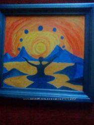 картины  масляными красками