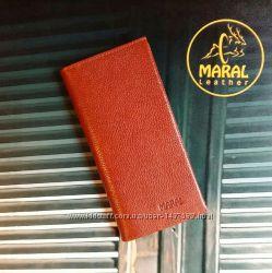 Мужской кожаный кошелек Maral Leather