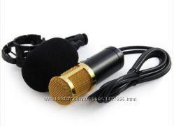 Микрофон BM-800. Аудиокарта.