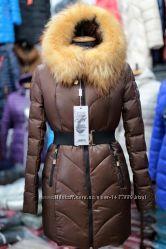 Пуховое зимнее пальто пуховик