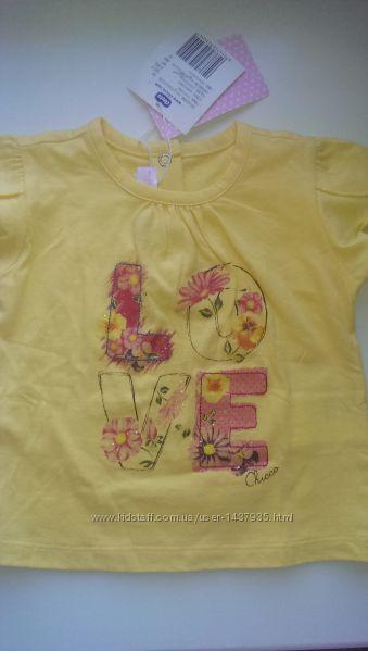 Продам футболка для девочки Chicco, Carters распродажа акция