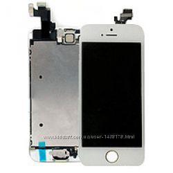 Дисплей модуль Iphone 5S черный, белый. Оригинал.