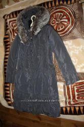 Женская зимняя куртка пуховик &92 пальто на пуху Clasna