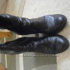 Кожаные сапоги, еврозима, 37-38 размер