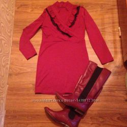 Платье и сапоги