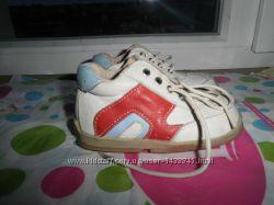 Фирменные кожаные ботиночки маленькому стиляге