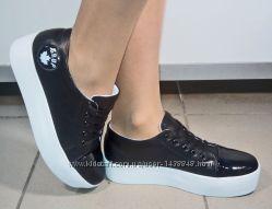 Туфли женские DC Grup Цвет черный Натуральная кожа
