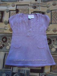 Теплый сарафан-платьице Gap на 6-12 месяцев