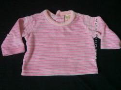 Классная велюровая кофточка на девочку на 0-3 месяца
