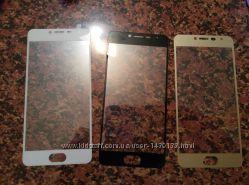 защитное стекло для Meizu m3s. покрывает весь экран.