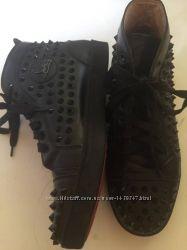Изумительные ботиночки из натуральной кожи, Christian Louboutin, 41 р.