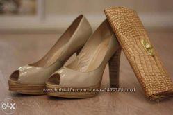 Женские туфли с лакированной кожи, идеал Фирмы BADURA