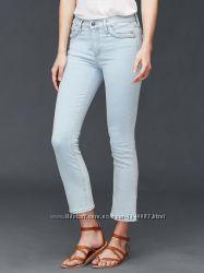 Джинсы GAP AUTHENTIC 1969 braid crop kick jeans. 26р.
