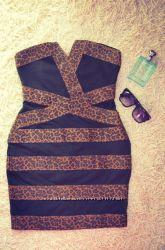 Бомбезное платье бюстье