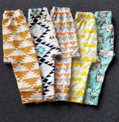 Детские штаны штанишки подштанники с крутыми принтами 18 и 24 мес в наличи